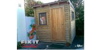Garden shed build